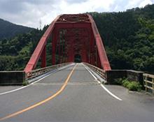 矢作ダムの橋