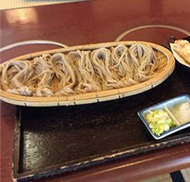 地元の蕎麦屋「藤花庵」