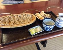 食事処 藤花庵の蕎麦